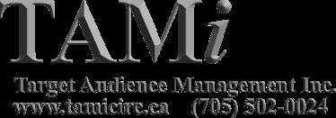 Tami, Target Audience Management Inc.